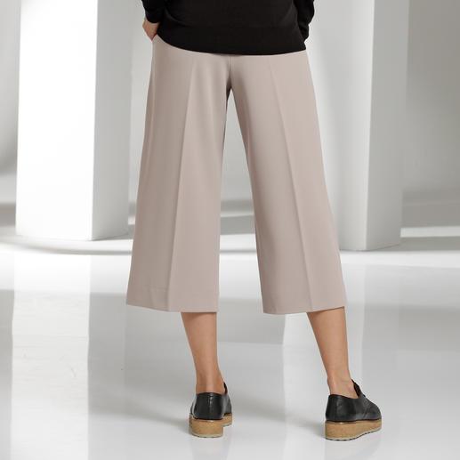 Seductive culotte Lastig broekmodel in een eenvoudig nieuw jasje.
