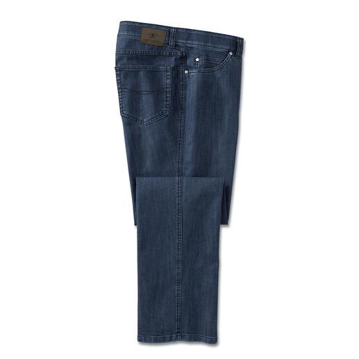 T400®-Jeans Geen uitlubberen. Veel minder zitplooien. En de volgende morgen droog.