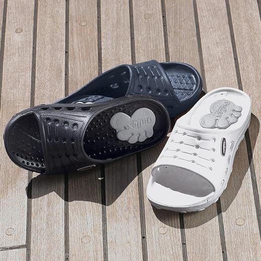 Chung Shi Duxilette In deze slipper vormt uw voet zijn eigen comfortabele voetbed.