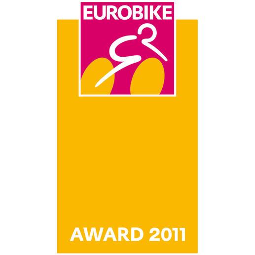 """De uvex Variomatic werd in 2011 met de gerenommeerde """"Eurobike Award"""" onderscheiden."""
