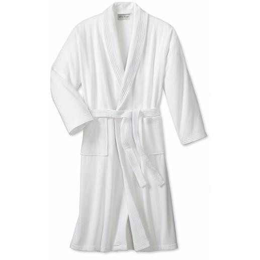 'Triton' badjas Welke badmantel draagt de man die als producent van de edelste morning gowns bekend staat?