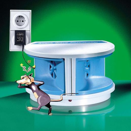 Muizenverdrijver Verjaag knaagdieren zoals muizen en ratten. Zonder vergif of vallen.