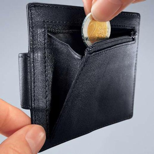 Een sterke klem houdt uw geld stevig vast.