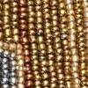 grijs/goudkleur/koperkleur/beige