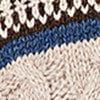 beige gemêleerd/zwart/wit/jeansblauw