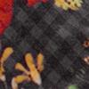 Wonderfield Grey Fleece, grijs ruitmotief/bloemmotief