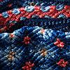 blauw/roze/wit