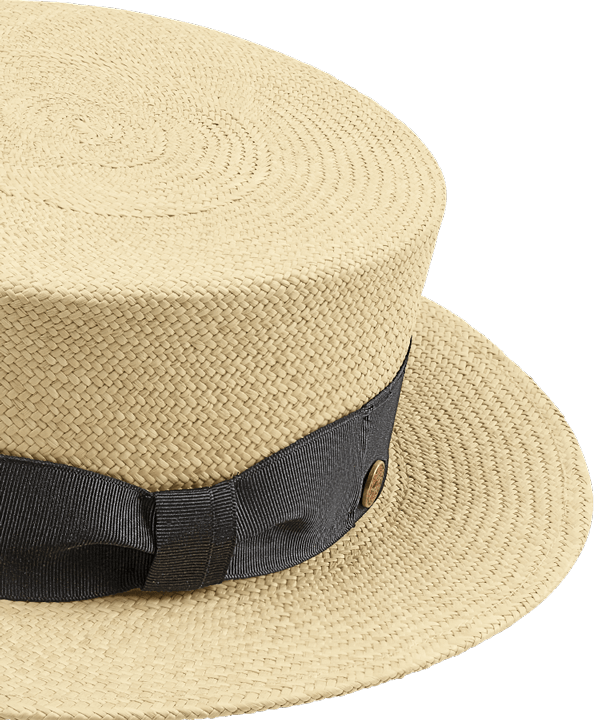 Mayser hoed van stro